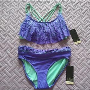 NWT CALIA by Carrie Underwood 2 PC Bikini S/M